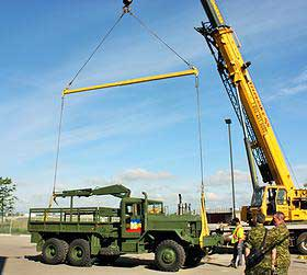 Custom Rigging Available From ThomKess Crane Rentals in Ontario.